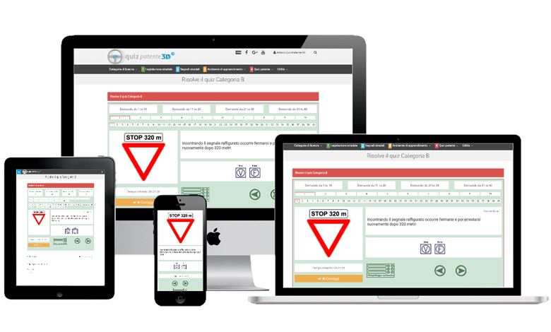 I nuovi quiz patente B e A