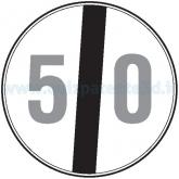 FINE DEL LIMITE MASSIMO DI VELOCITÀ DI 50 KM/H